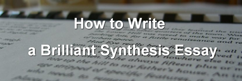 synthesis-essay