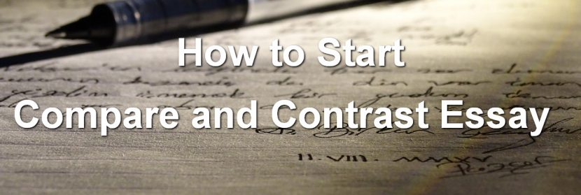 How-to-Start-a-Compare-and-Contrast-Essay