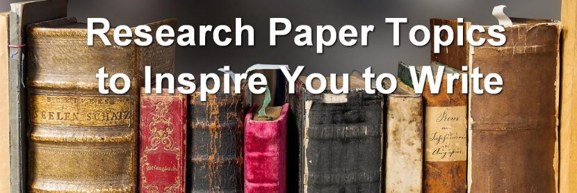 Researc Paper Topics